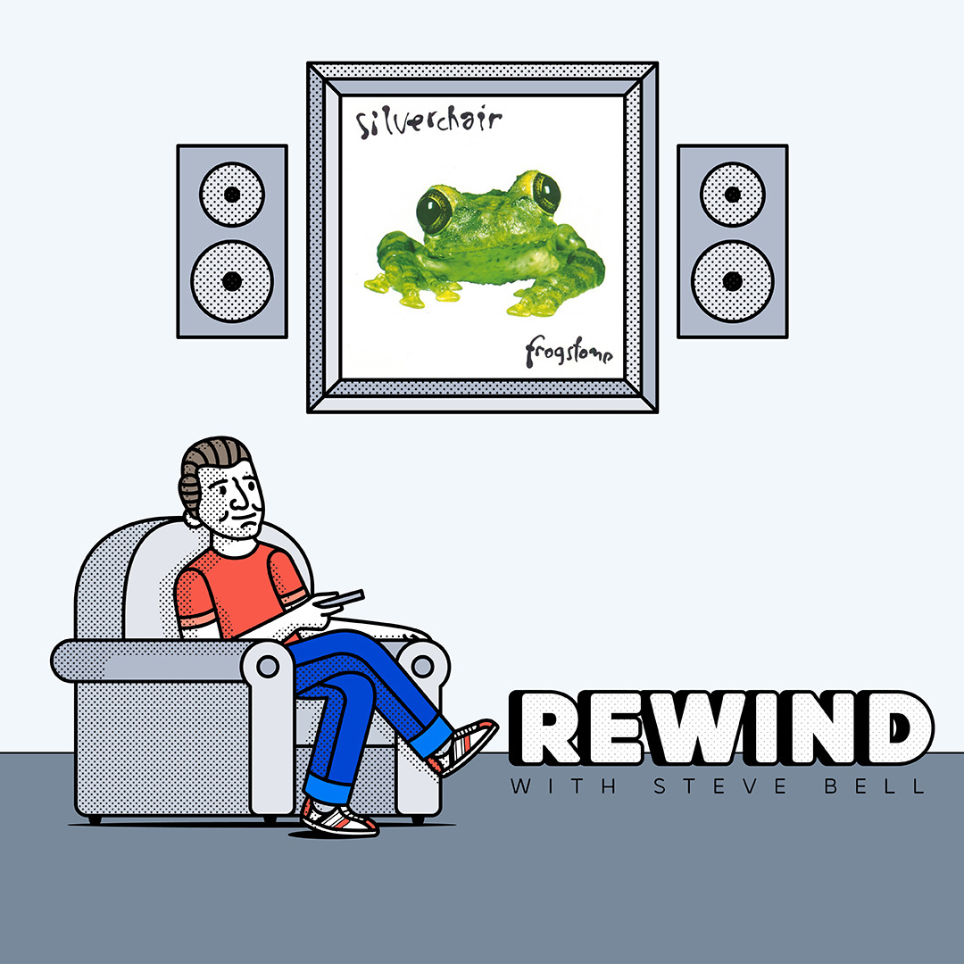 Belly's new podcast Rewind With Steve Bell out now!