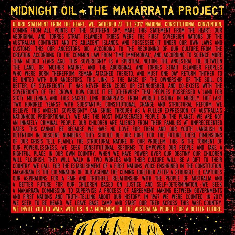 Midnight Oil – The Makarrata Project