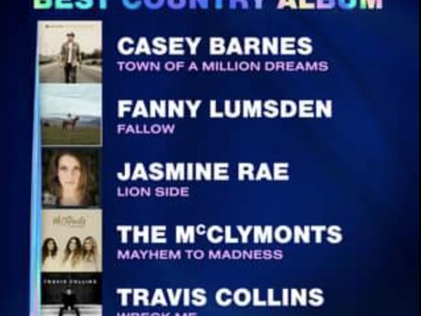 2020 ARIA Awards 'Best Country Album' Nominees!