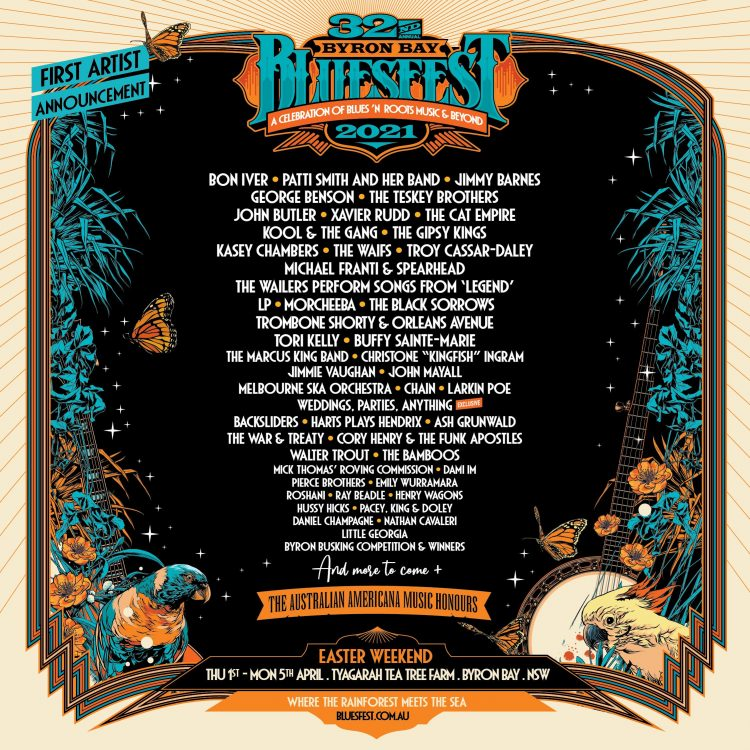 Bluesfest 2021 still scheduled for Easter!
