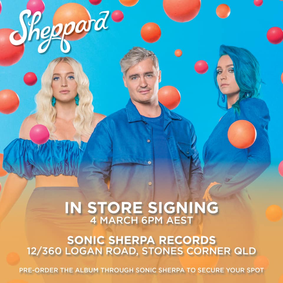 Sheppard announce exclusive instore and signing!
