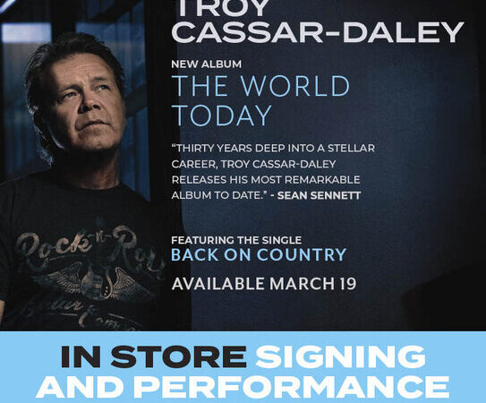 Troy Cassar-Daley – The World Today
