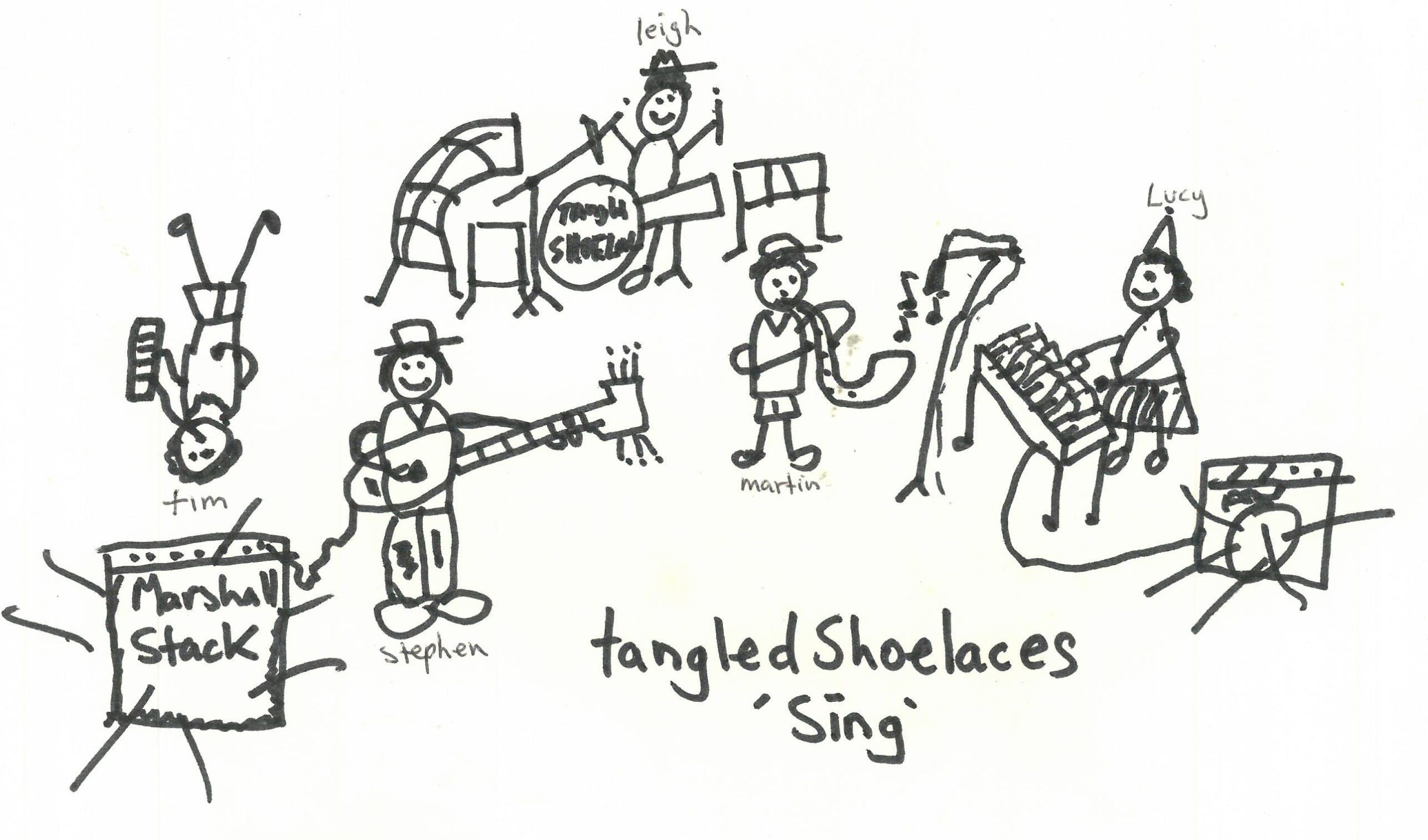 Tangled Shoelaces to play Sonic Sherpa!
